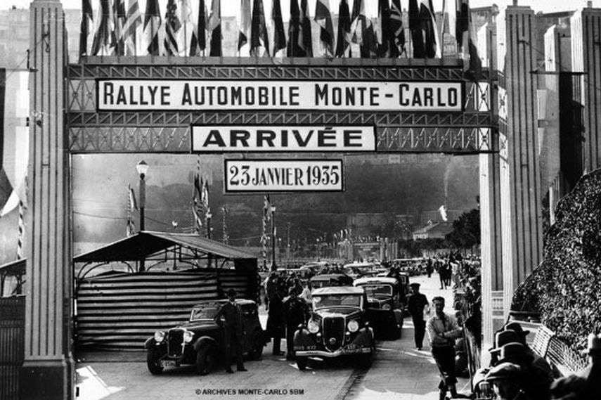 1935 Rallye Monte-Carlo photo