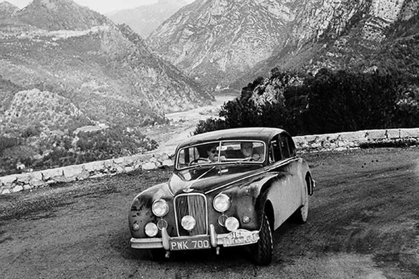 Monte Carlo Rally, 1956 winning car Jaguar Mk VII