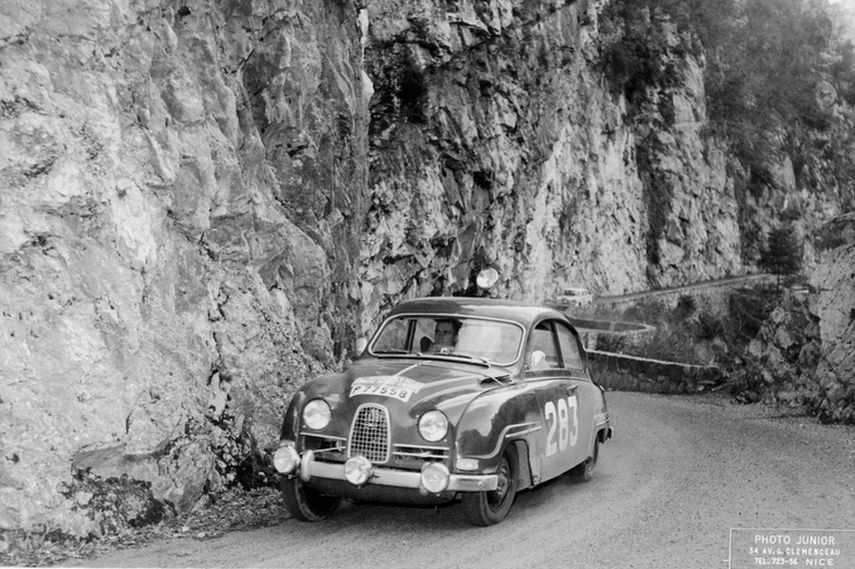 Monte Carlo Rally, 1963, Erik Carlsson, Saab 96
