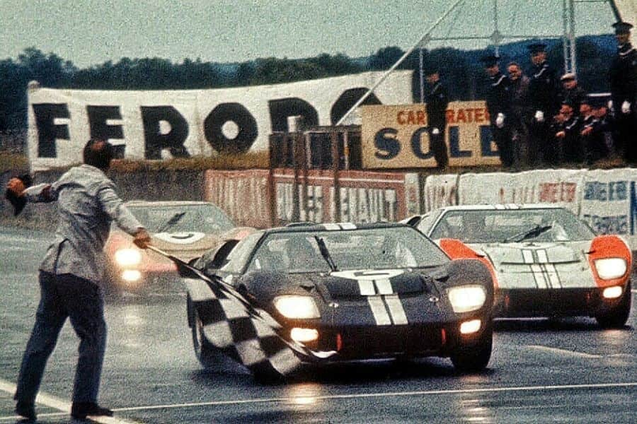 1966 Le Mans 24h - finish of the race