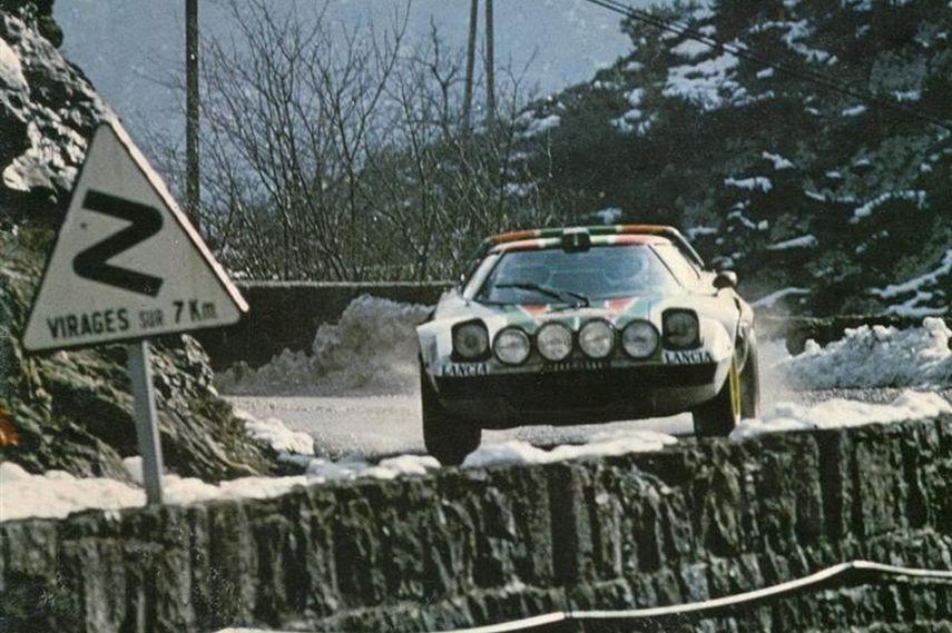 Monte Carlo Rally, Sandro Munari, Lancia Stratos