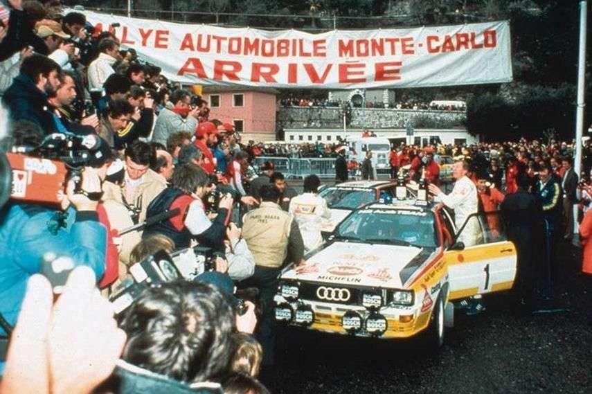 1984 Rallye Monte-Carlo, Monte Carlo Rally, Walter Röhrl