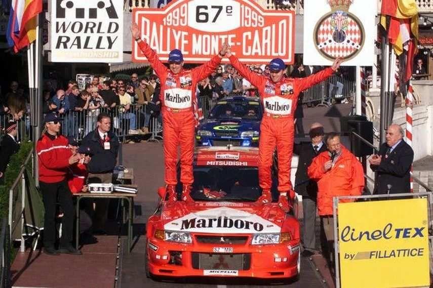1999 Rallye Monte-Carlo, winner Tommi Mäkinen