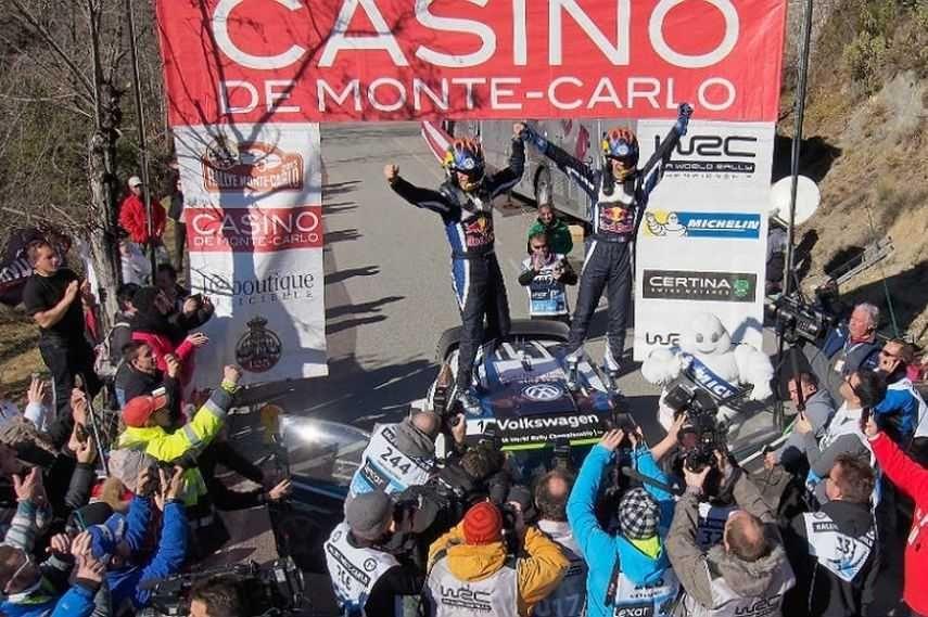 Monte Carlo Rally, 2015, Sebastien Ogier