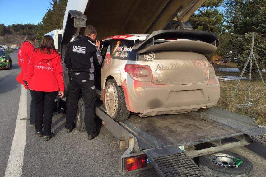 2016 Rallye Monte-Carlo, Kris Meeke