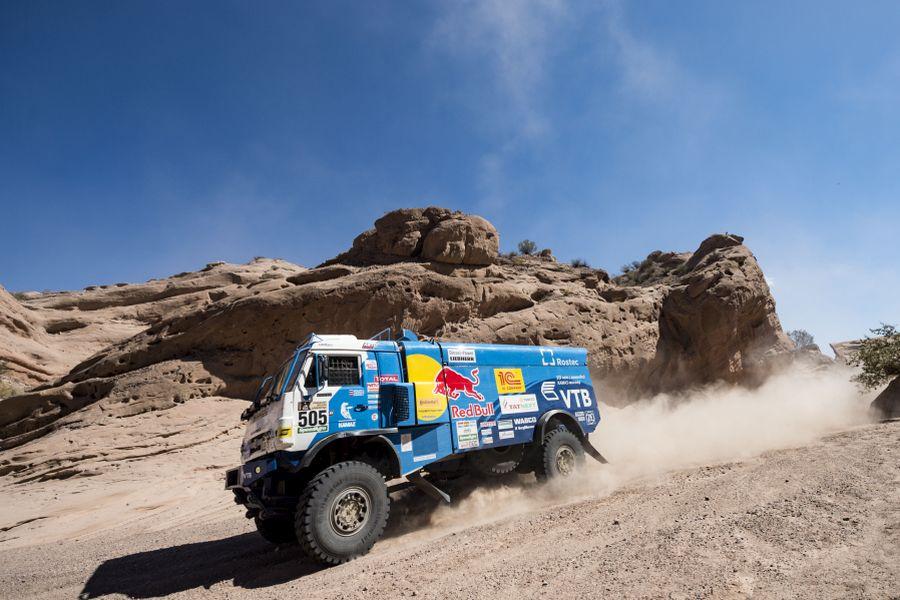 Eduard Nikolaev's Kamaz Master at 2017 Dakar Rally