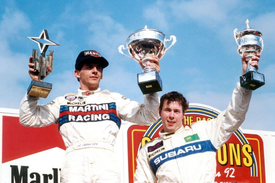 Victory at 1992 Race of Champions for Andrea Aghini