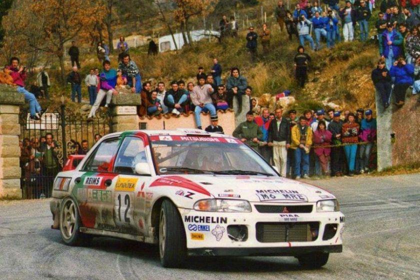 Andrea Aghini, 1995 Mitsubishi Lancer Evo III