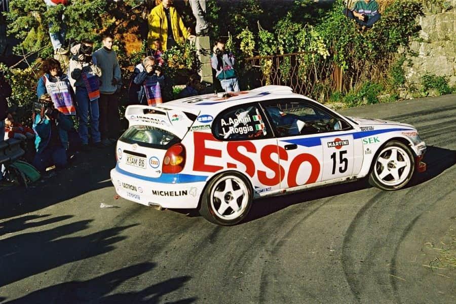 Andrea Aghini Toyota Corolla WRC 1998