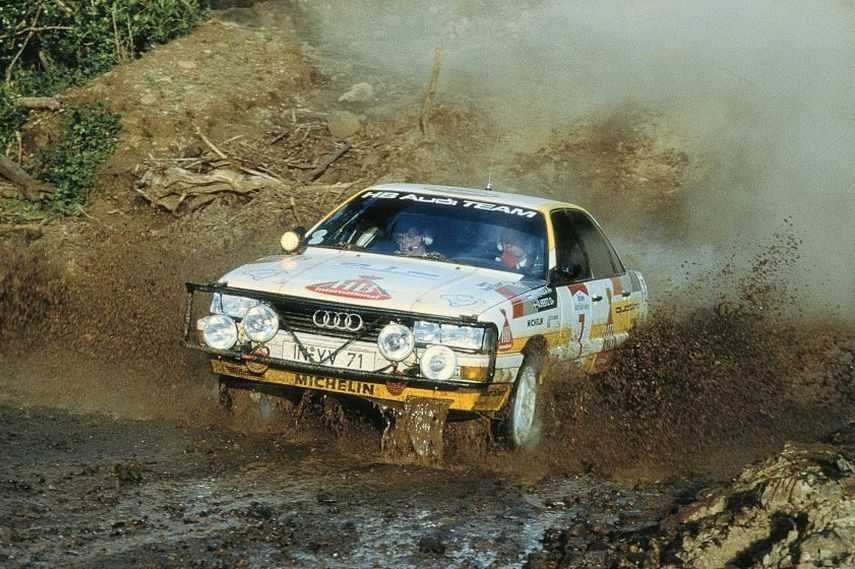 Audi 200 quattro, Safari Rally, Hannu Mikkola, quattro® vehicle performance