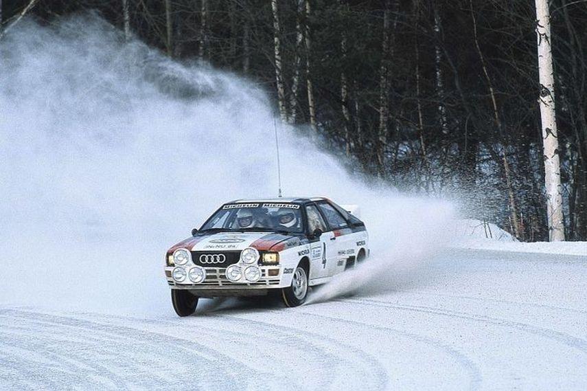 Audi Quattro, 1981 World Rally Championship, audi quattro history