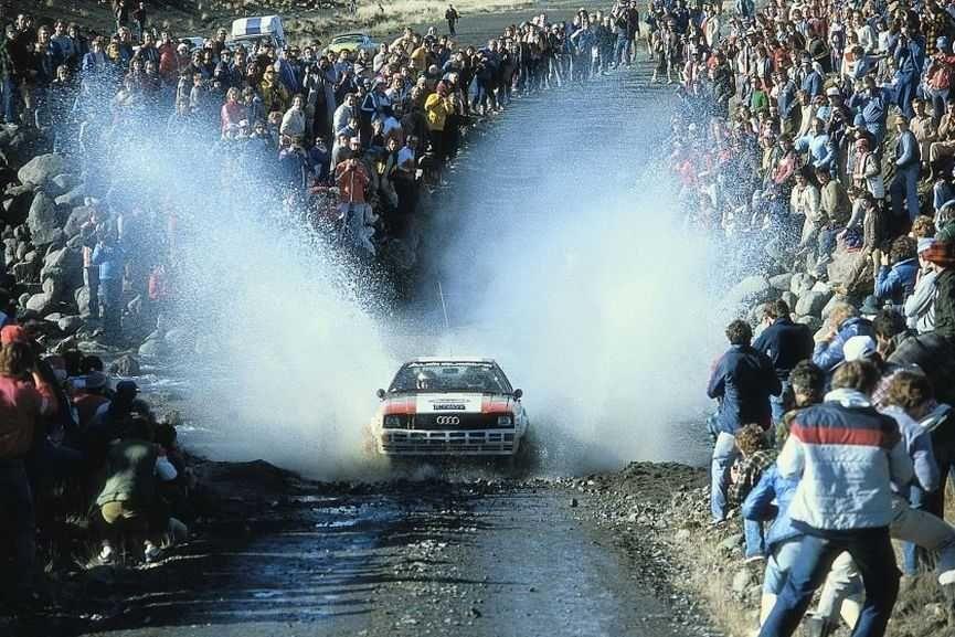 Audi Quattro 1982, World Rally Championship