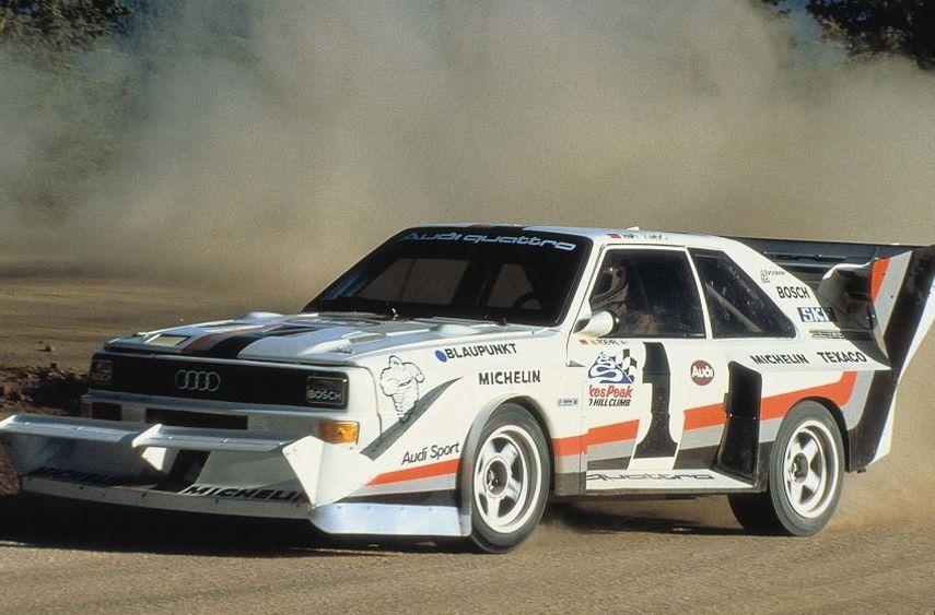 Audi Sport quattro S1, Walter Röhrl, 1987 Pikes Peak