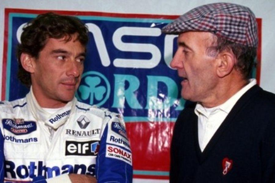 Ayrton Senna and Brian Hart