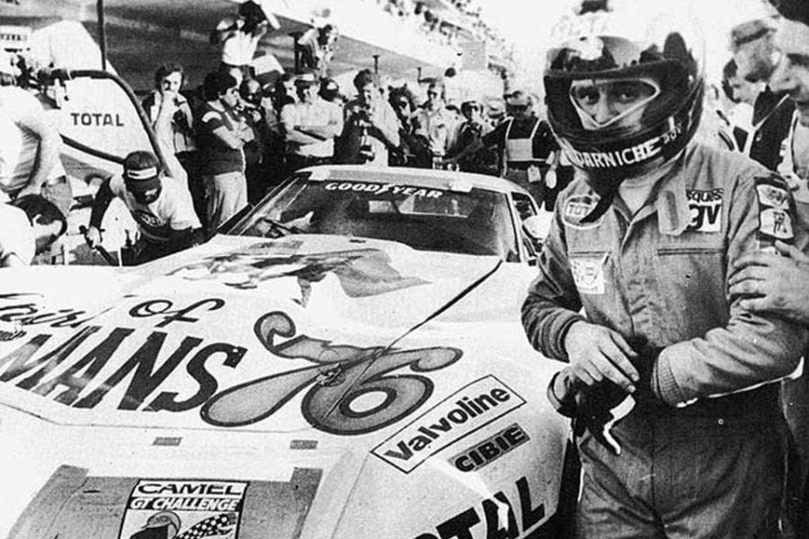 Bernard Darniche at 1976 Le Mans 24 Hours