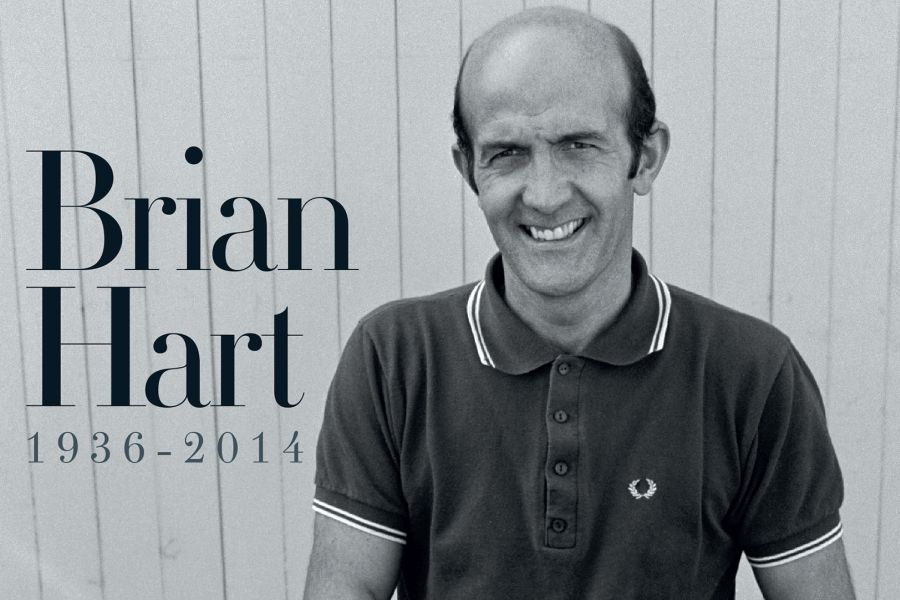 Brian Hart died in 2014
