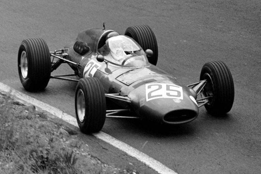 Brian Hart at 1967 German Grand Prix