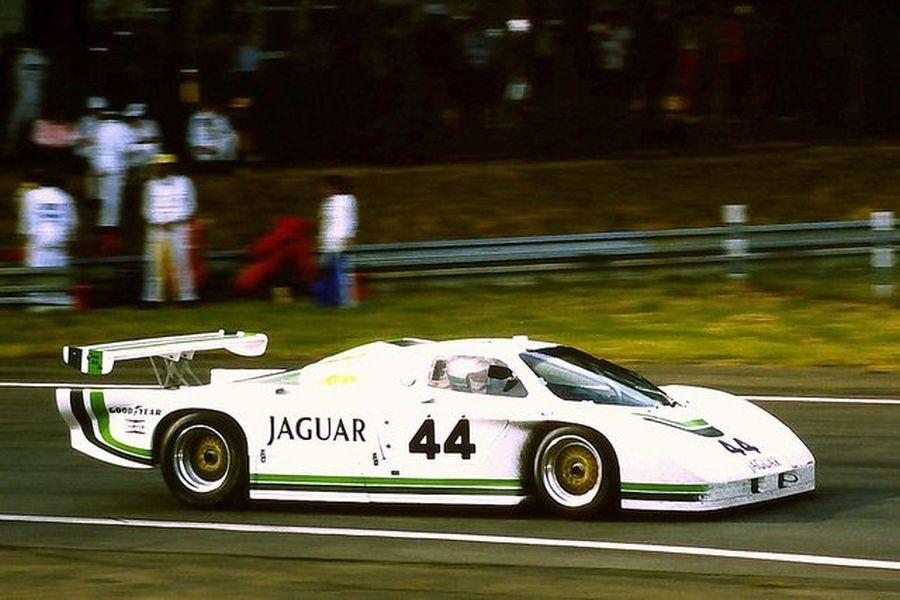 Claude Ballot-Lena's Jaguar XJR-5 at 1985 Le Mans 24 Hours