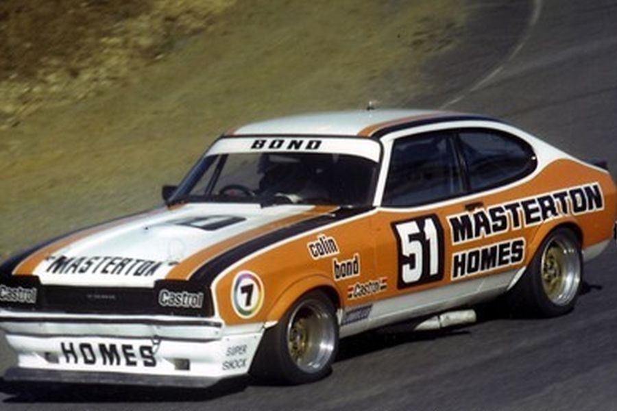 Colin Bond's Ford Capri, 1980