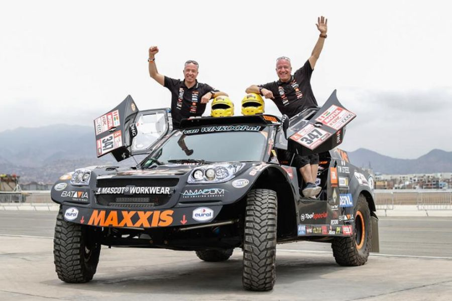 Tim Coronel, Tom Coronel, 2018 Dakar Rally