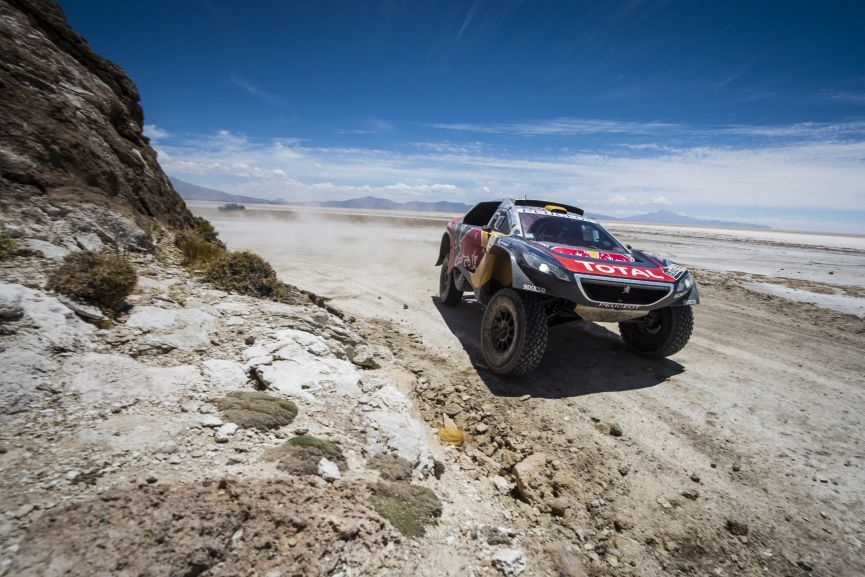Dakar Rally 2016, Stephane Peterhansel, Peugeot 2008 DKR