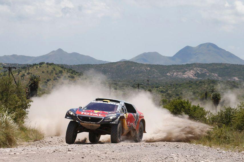 Dakar 2016, Stephane Peterhansel, Peugeot 2008 DKR