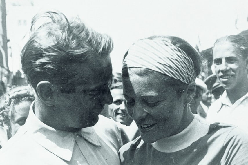 Bernd Rosemeyer and his wife Elly Beinhorn