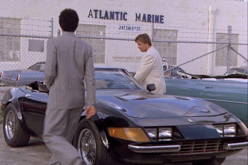 Miami Vice Ferrari Daytona replica