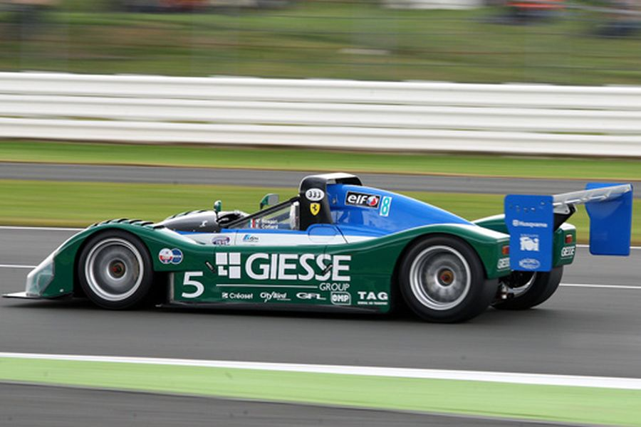 Championship-winning Ferrari 333 SP in 1998