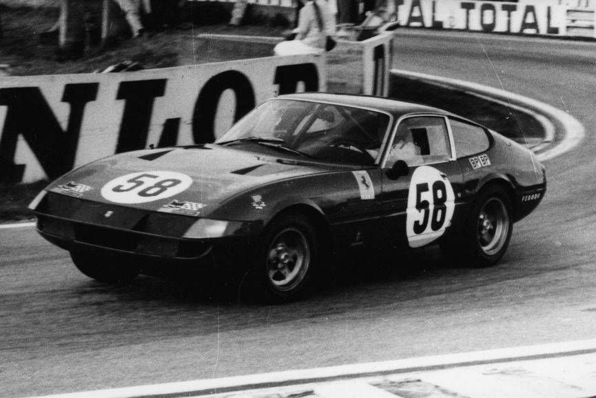 Ferrari 365 GTB/4 Daytona, 1971 24 Hours of Le Mans