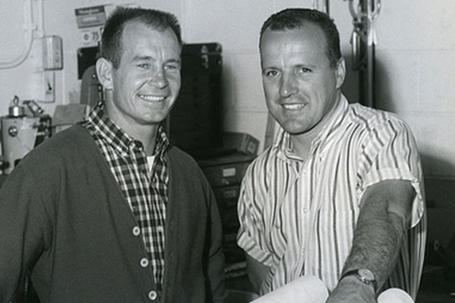 Great rivals - Parnelli Jones and AJ Foyt