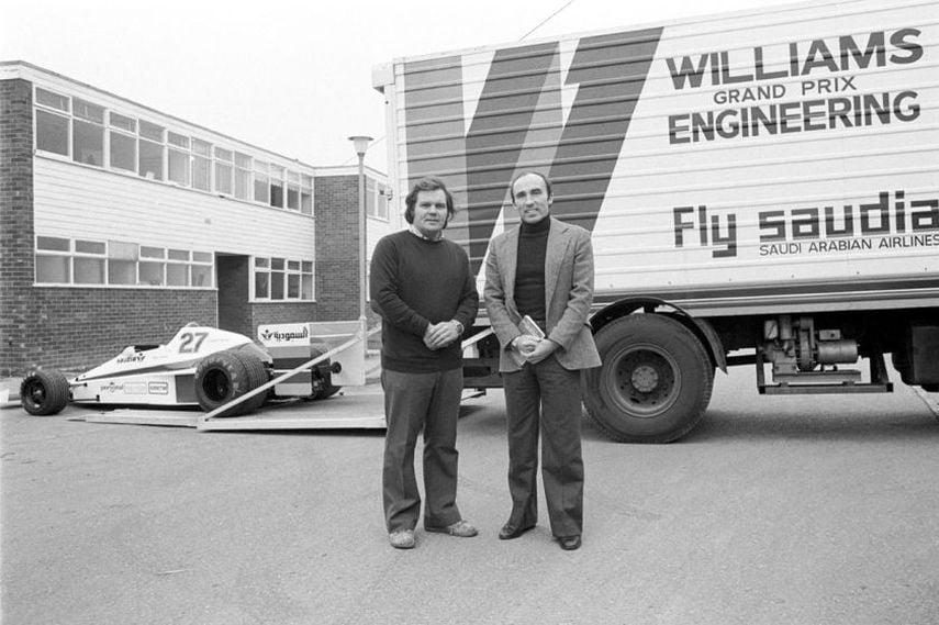Frank Williams, Patrick Head, 1978