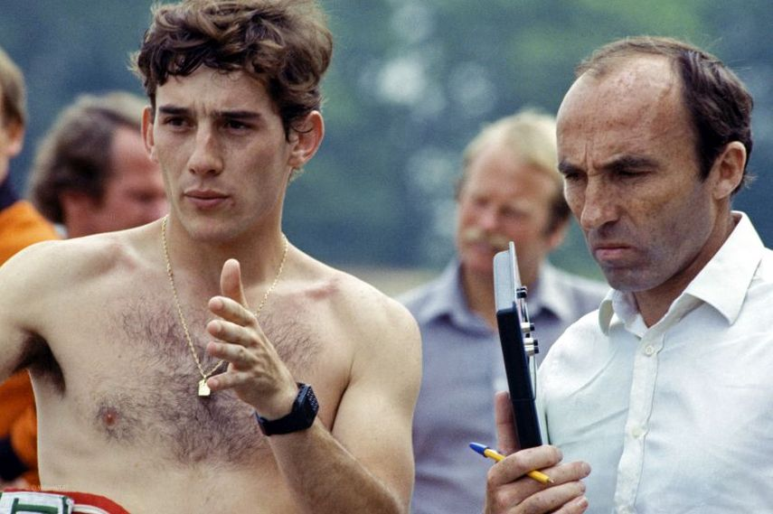 Frank Williams, Ayrton Senna, 1983