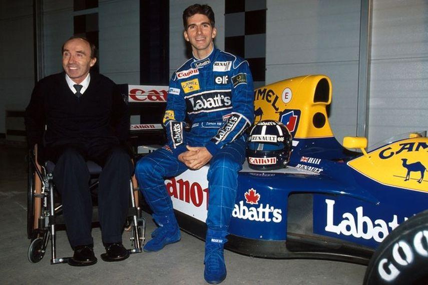 Sir Frank Williams, Damon Hill