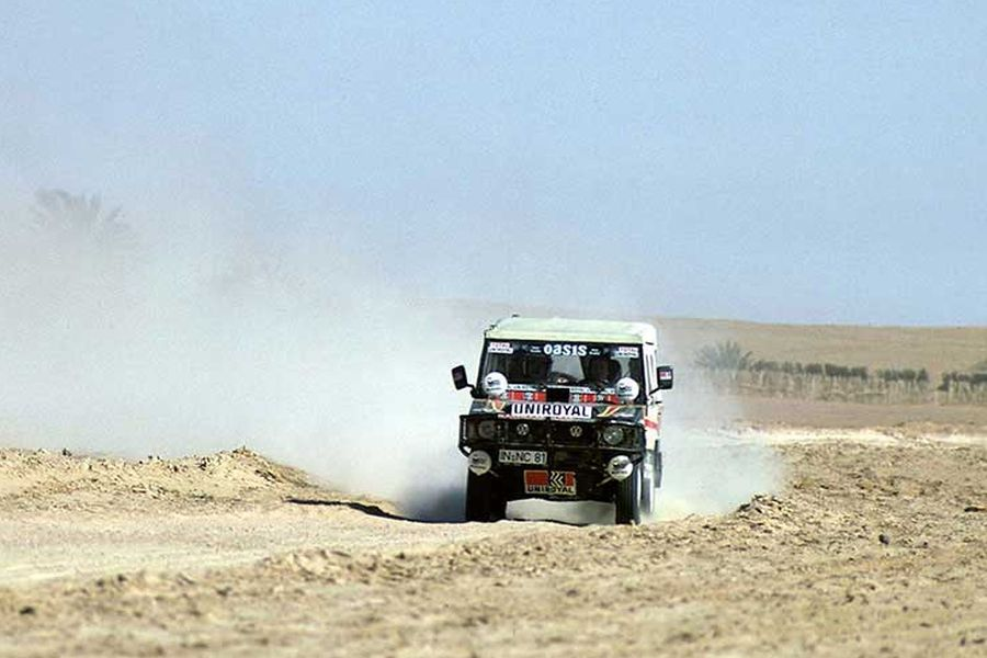 Volkswagen Iltis was a victorious car at 1980 Dakar Rally