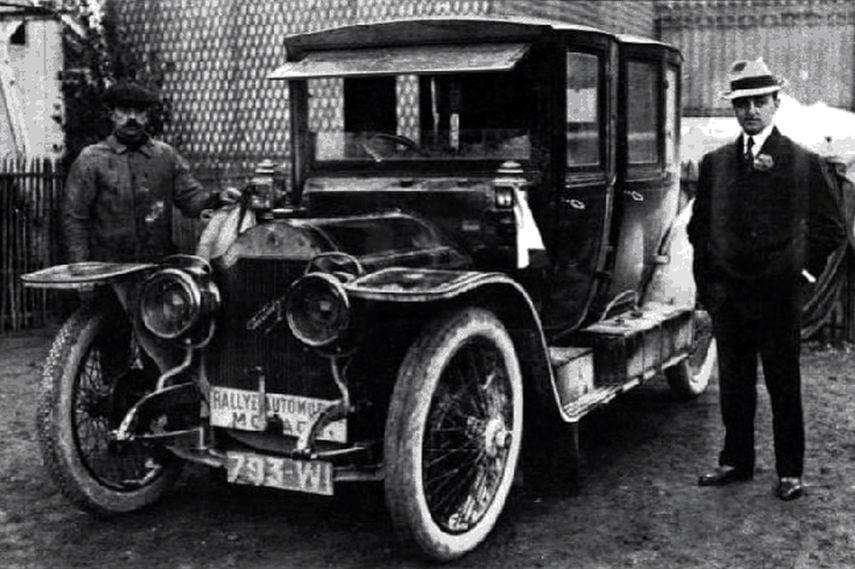 Monte Carlo Rally, 1911 Rallye Monte-Carlo