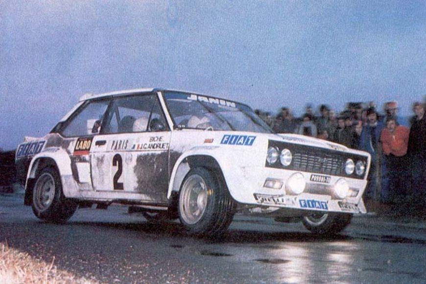 1977 Fiat 131 Abarth, Jean-Claude Andruet