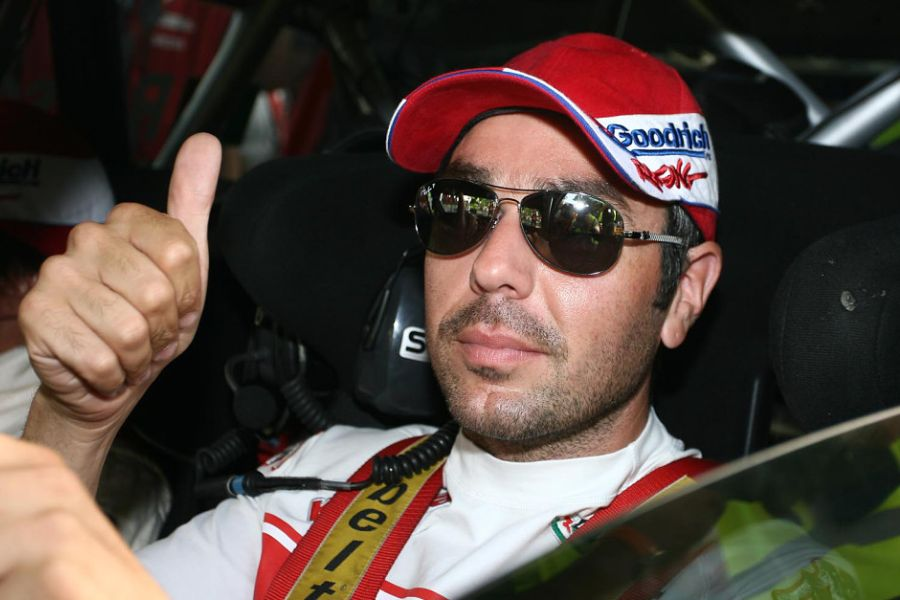 Luca Rossetti - three-time European rally champion