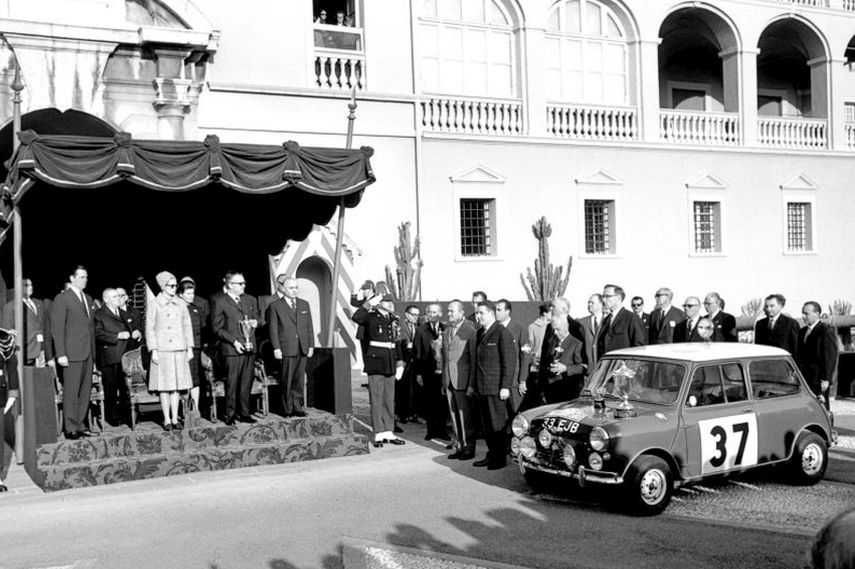 1964 Rallye Monte-Carlo, Paddy Hopkirk, Mini Cooper S
