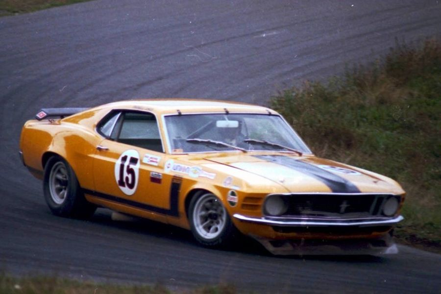 Parnelli's Ford Mustang