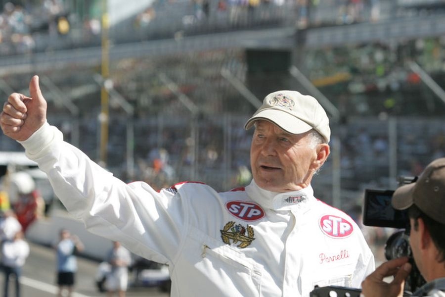 Parnelli Jones is still present at motorsport events
