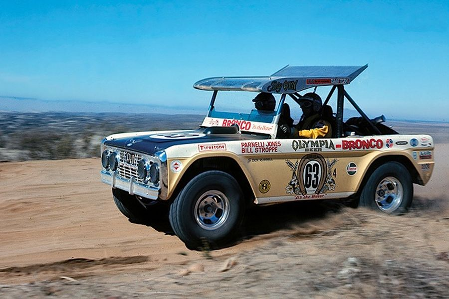 Parnelli's Ford Bronco at Baja 1000