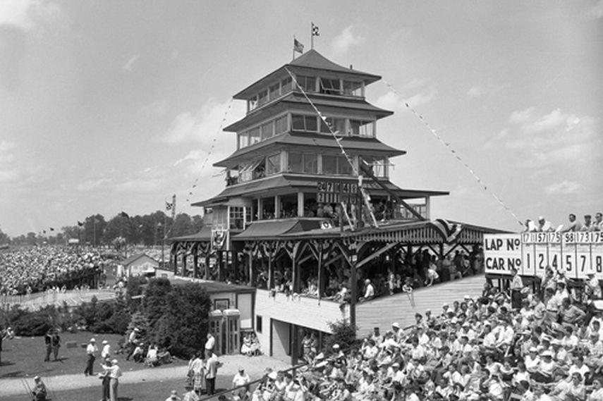 Indianapolis Motor Speedway, Pagoda, 1956