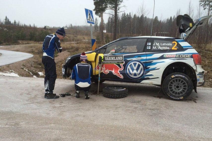2016 Rally Sweden, Jari-Matti Latvala, Volkswagen