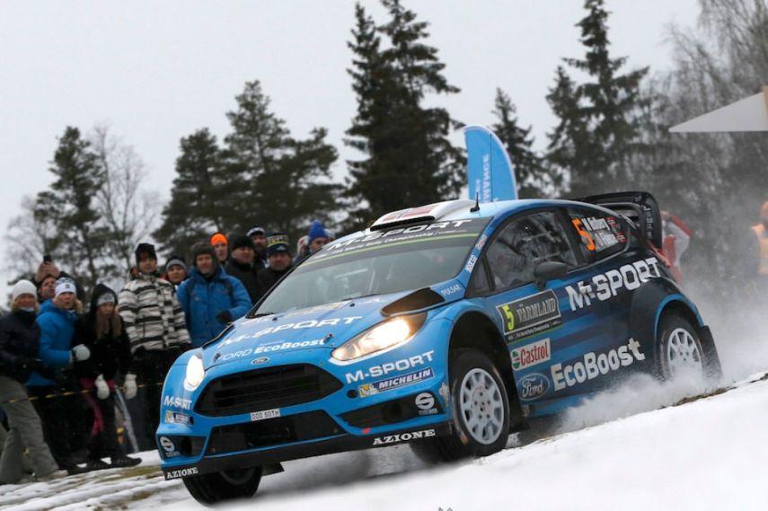 2016 Rally Sweden, Mads Ostber, M-Sport Ford Fiesta