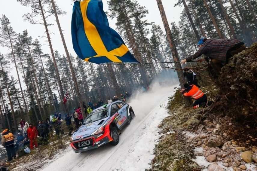 2016 Rally Sweden, Hayden Paddon, Hyundai i20 WRC
