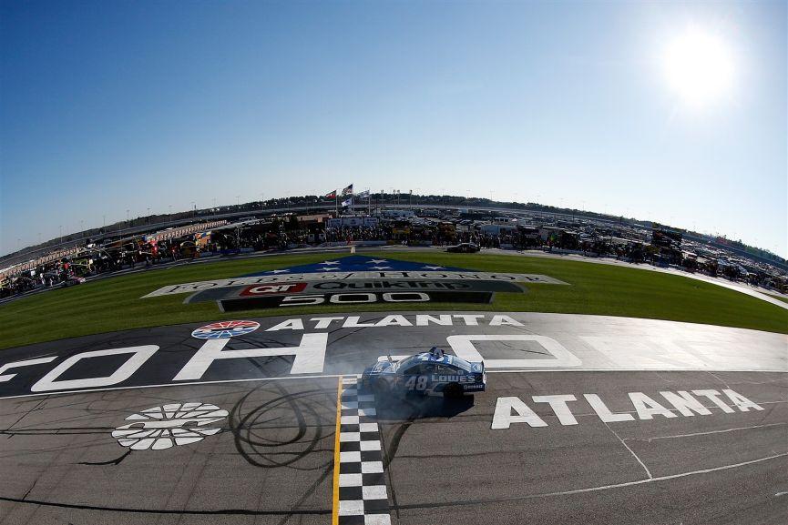 NASCAR Sprint Cup Series, Atlanta Motor Speedway, 2016, Jimmie Johnson