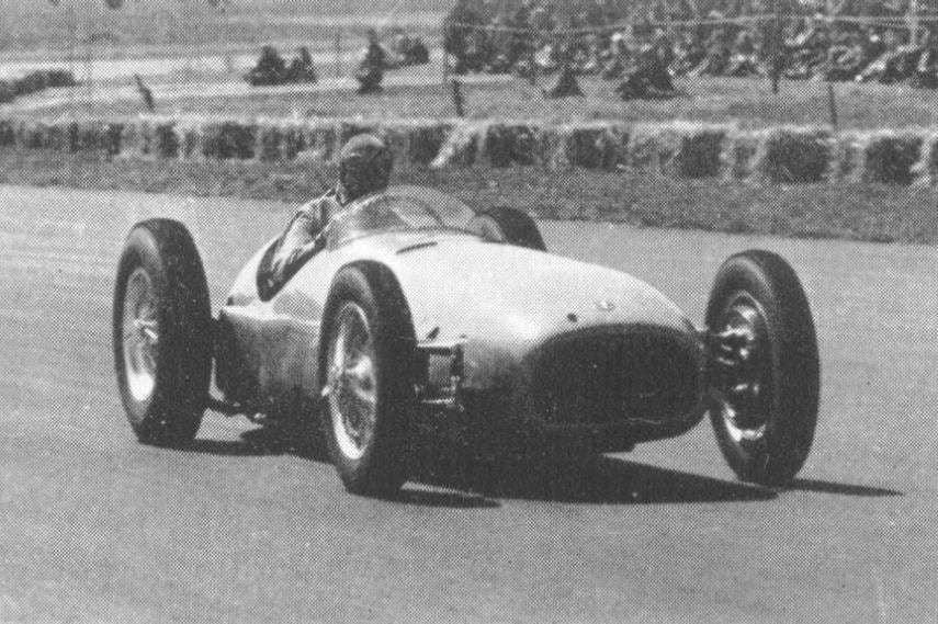 BRM V16, Raymond Mays, Silverstone demonstration run 1950