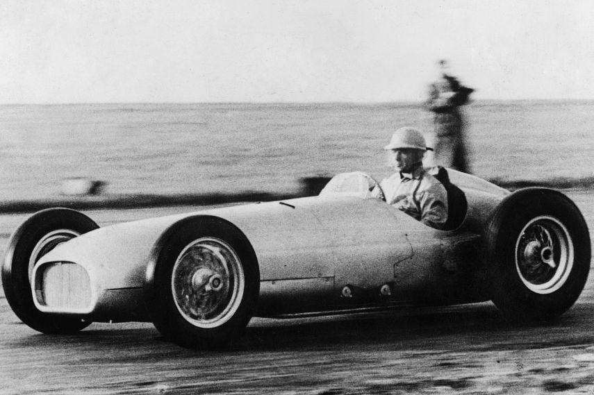 BRM V16, Ken Richardson, 1950