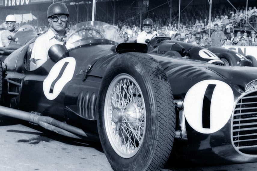 BRMV16, Juan Manuel Fangio, Goodwood1953, sound